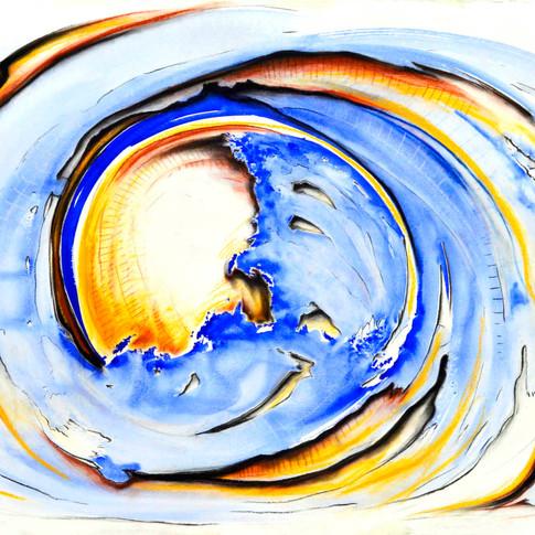 Wave moon I