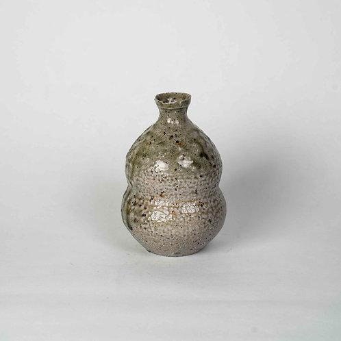 Salt-glazed Sake Bottle