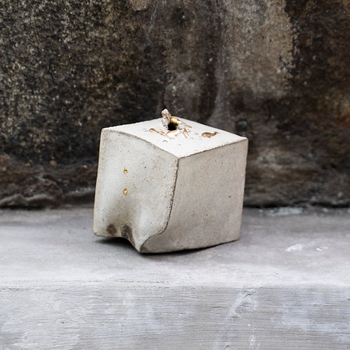 Gold / Silver Cube