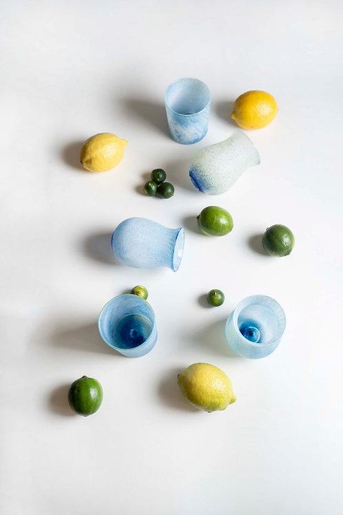 Blue Cocktail Glasses