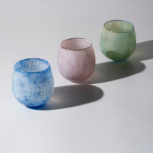 Coloured Glass Cup