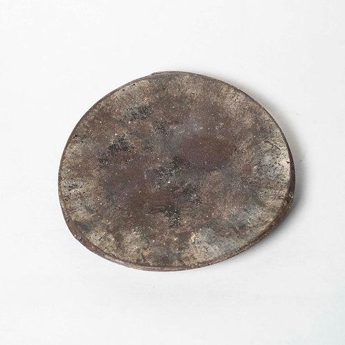 Dark Round Plate