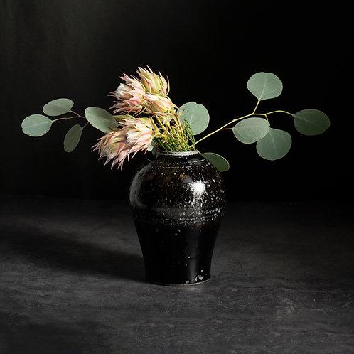 Round Vase - Tenmoku