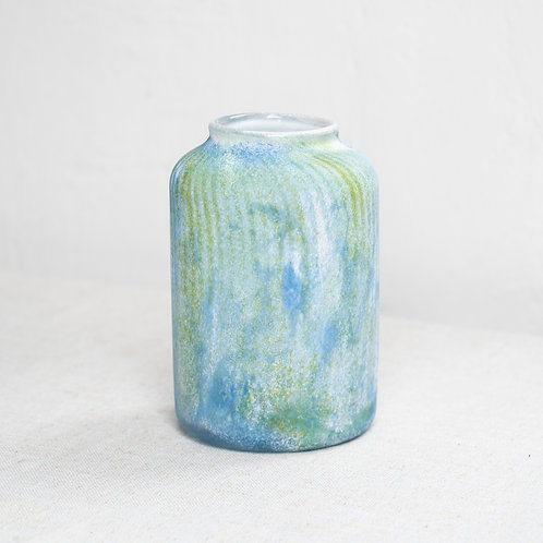 Water-lilies Glass Vase