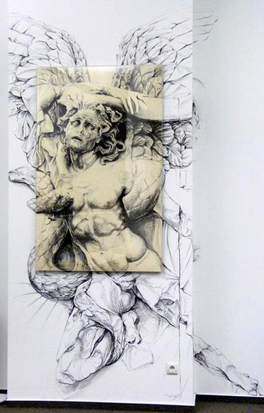 Detalhe do Altar de Pergamon