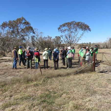 TSR Project Kicks Off With Woodlands Walk