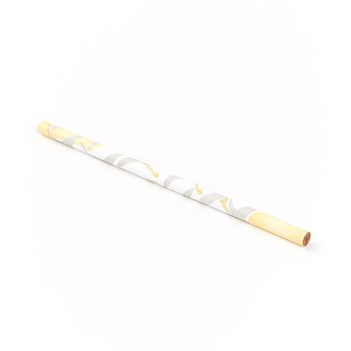 オリジナル鉛筆 鶴図下絵和歌巻
