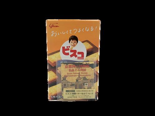 京博限定【第2号】ミニ図録付きビスコ<発酵バター仕立て>セット