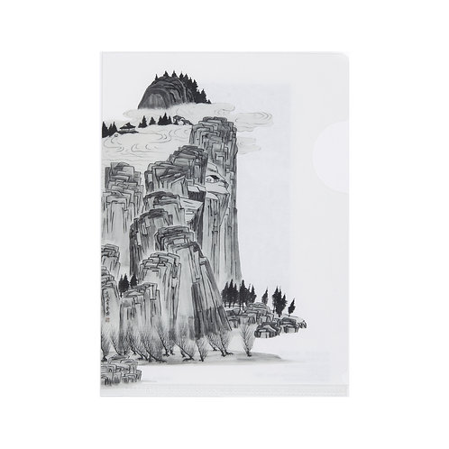ミニクリアファイル 宋法山水図