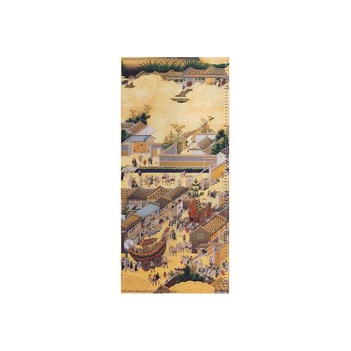 チケットフォルダー 祇園祭礼図