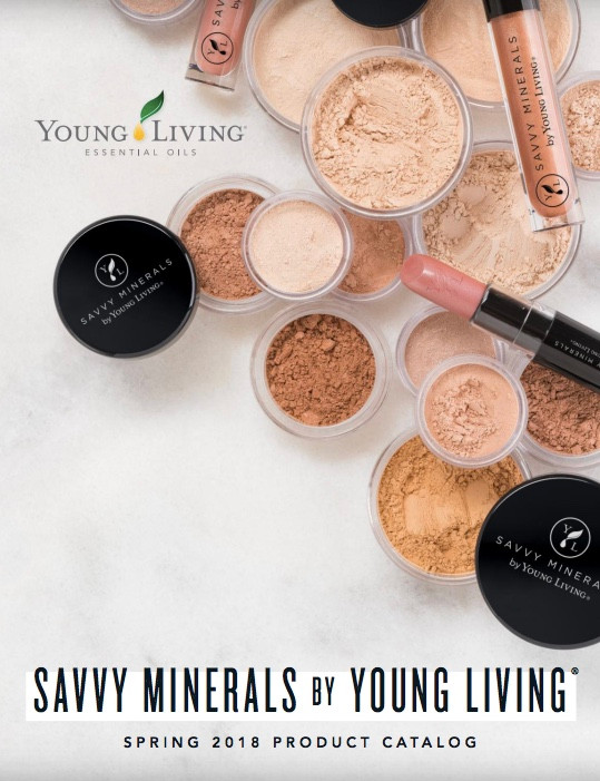 Savvy Minerals Spring 2018 Product Catalog!