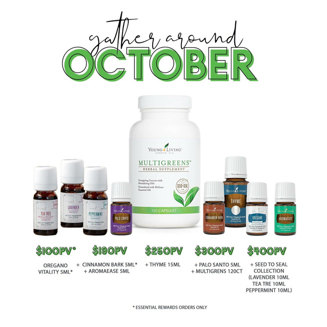 october promo is here!