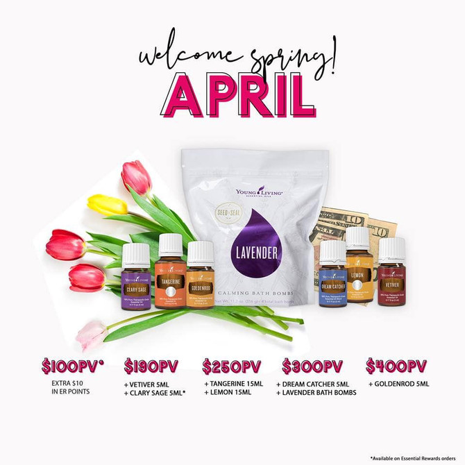 April promo is here!