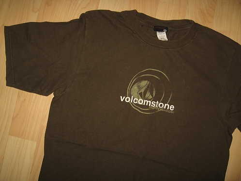 Volcom Stone Khaki Green Surf Tee - Medium