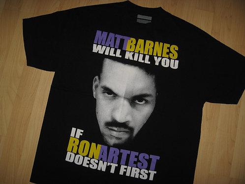 Matt Barnes Los Angeles Lakers Tee - XL