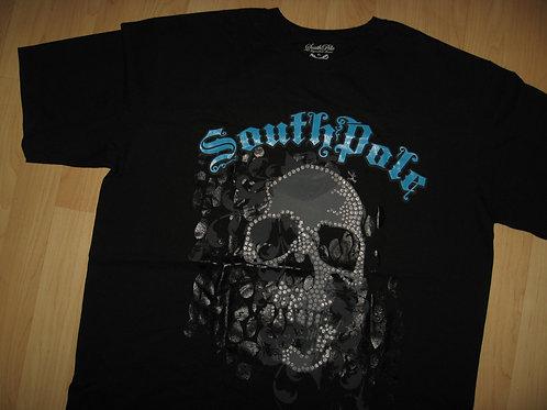 SouthPole Signature Series Skull Tee - X Large