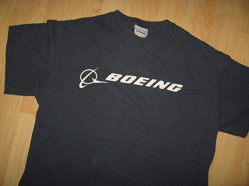 Boeing Airplane Rocket Space Grunge Tee - Medium