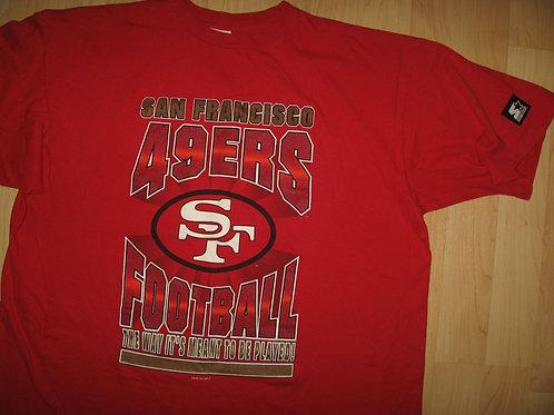 San Francisco 49ers Football Vintage '94 Tee - XXL