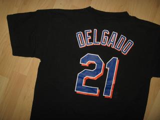 Carlos Delgado New York Mets #21 T Shirt