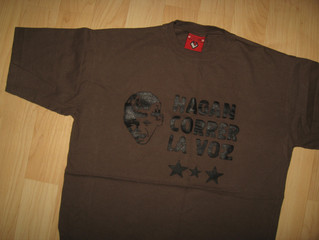 Nonpalidece Argentina Concert Tee Vintage Second Hand T Shirts Cover Uranus