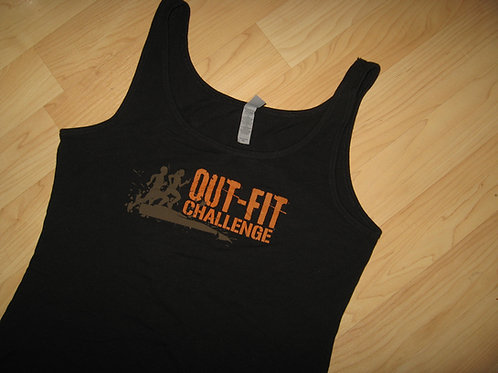 Out-Fit LGBT Mud Run Tank Top - Women's XL