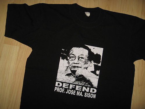 Defend Professor Jose Maria Sison Tee - Medium