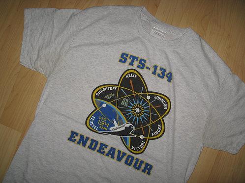 STS-134 Endeavour NASA Space Shuttle Tee - Medium