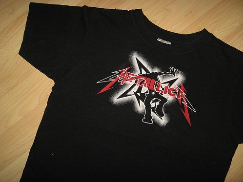 Metallica Heavy Metal Concert Tee - Women's Lg Jr.