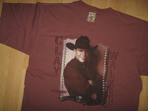 Clay Walker 1997 Country Music Concert Tee - XL
