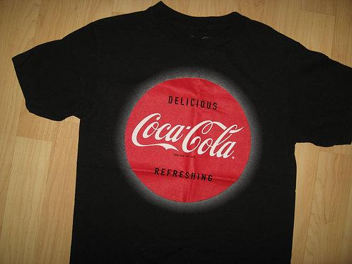 Coca Cola Coke Soda Pop Retro Label Tee - Small