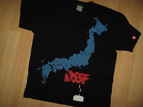 Punk Drunkers Video Game Japan Pixels Tee - Medium
