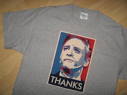 Jon Stewart Thanks USA Election Tee - Large