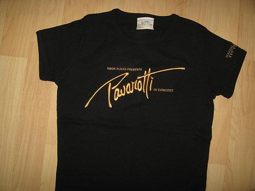 Luciano Pavarotti 1999 Las Vegas Tee - Womens Med