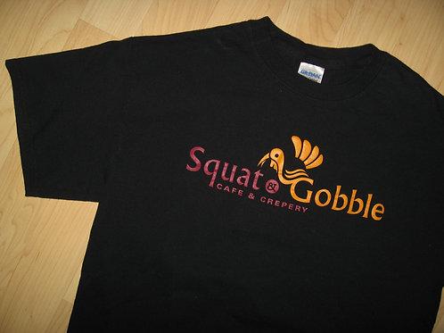 Squat & Gobble Castro Gay Cafe Tee - Medium