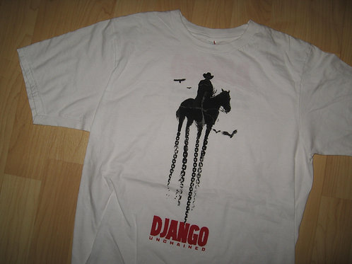 Django Unchained 2013 Jamie Foxx Movie Tee - Small