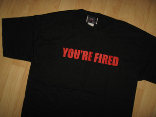 Donald Trump You're Fired Vintage Second Hand T Shirts Cover Uranus