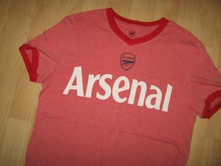 Arsenal Football Club Vintage Second Hand T Shirts Cover Uranus