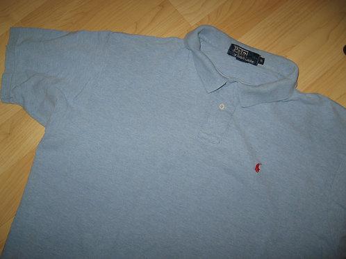 Ralph Lauren 1980's Light Blue Polo Shirt - XL