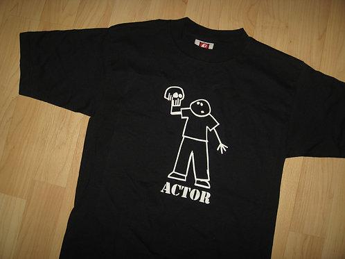 Actor / Waiter 1980's Reality Check Tee - Small