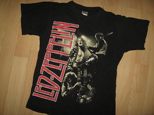 Led Zeppelin Vintage Retro Thin Tee - Medium