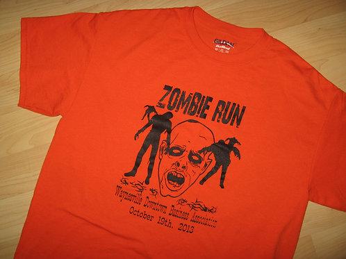 Zombie Run Waynesville Mo 2013 Tee - Medium