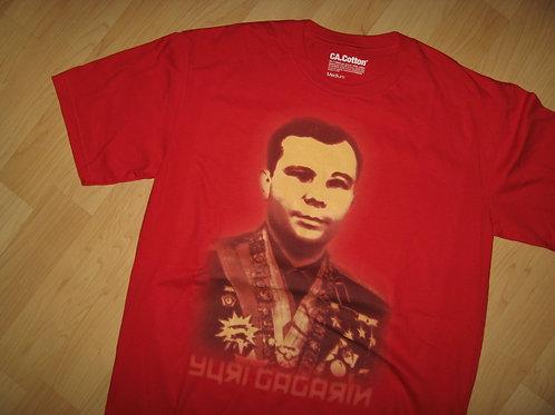 Yuri Gagarin Russian Cosmonaut Tee - Medium