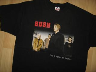 Bush Gavin Rossdale 2000 Concert Tour Vintage Second Hand T Shirt Cover Uranus