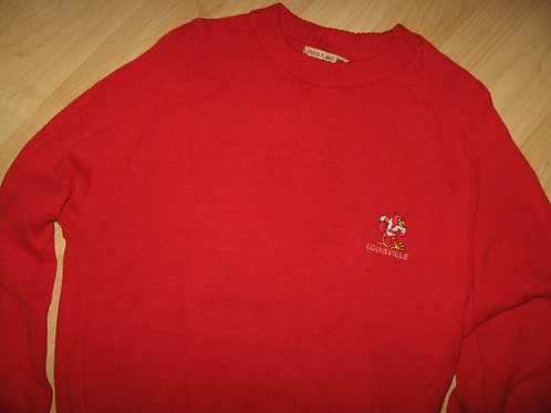 University Of Louisville 1980's Sweater - Large