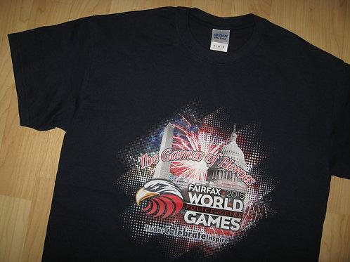 Police & Fire World Games 2015 Tee - Medium
