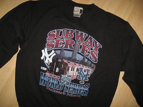 Subway World Series 2000 Baseball Sweatshirt - Lg