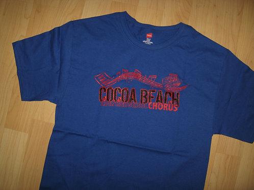 Cocoa Beach Chorus School Choir Tee - Medium