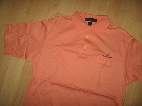 Piedmont Airlines Vintage Airplane Polo - Large