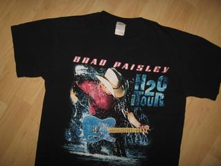 Brad Paisley H2O Concert Tee $22.00