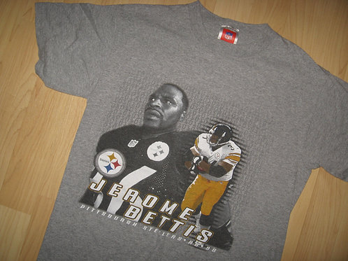 Jerome Bettis '98 Pittsburgh Steelers Tee - Medium
